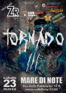2013.03.23 - Locandina Zombie Rock Festival - Mare di Note