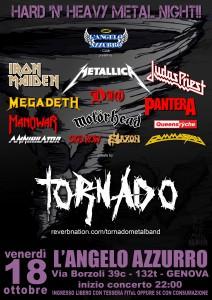 2013.10.18 - Locandina Tornado - L'Angelo Azzurro Club
