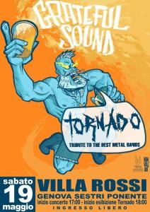 2018.05.19 - Locandina Tornado - Grateful Sound Festival 2018